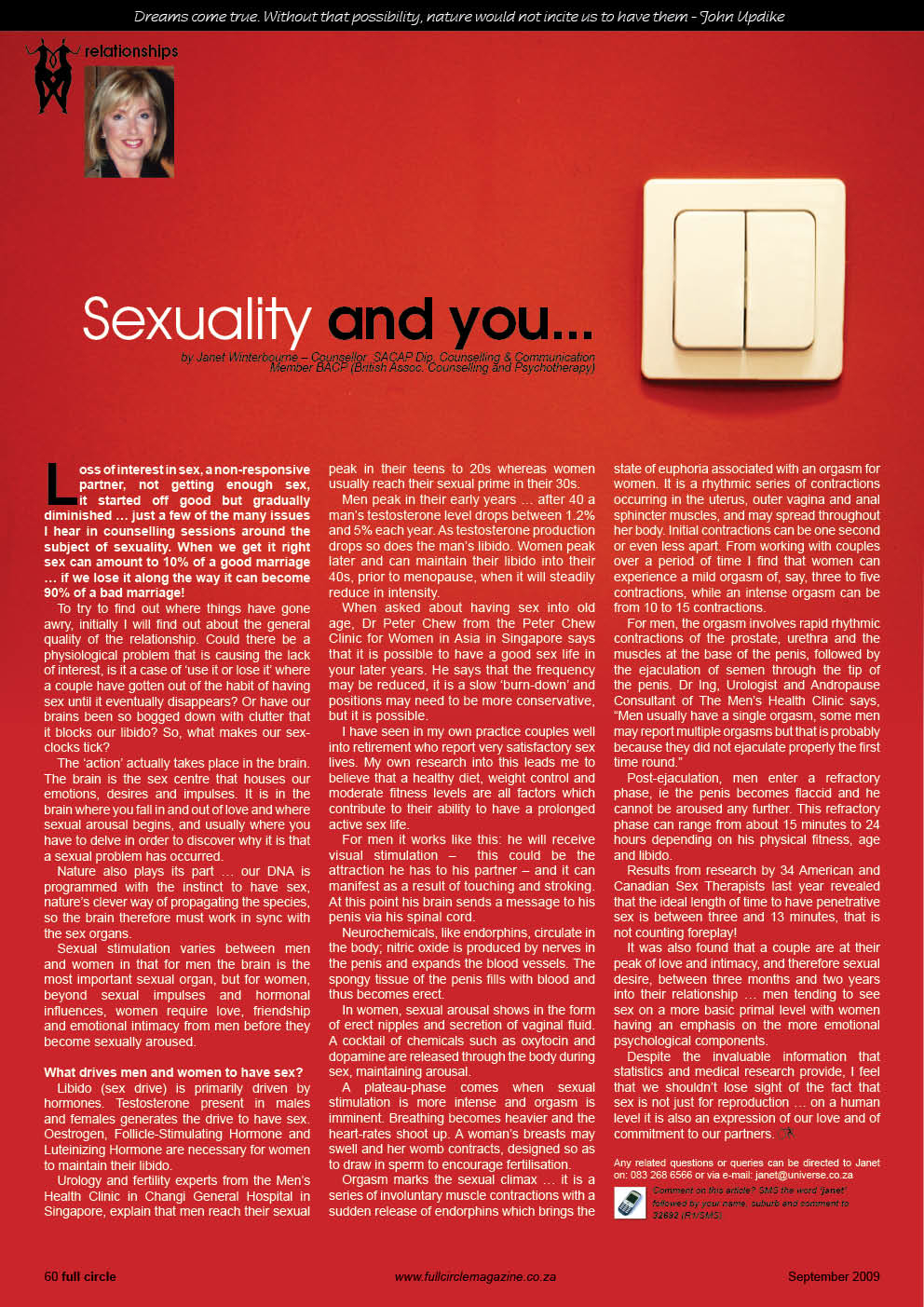 Sexuality and You Psychologist Cape Town