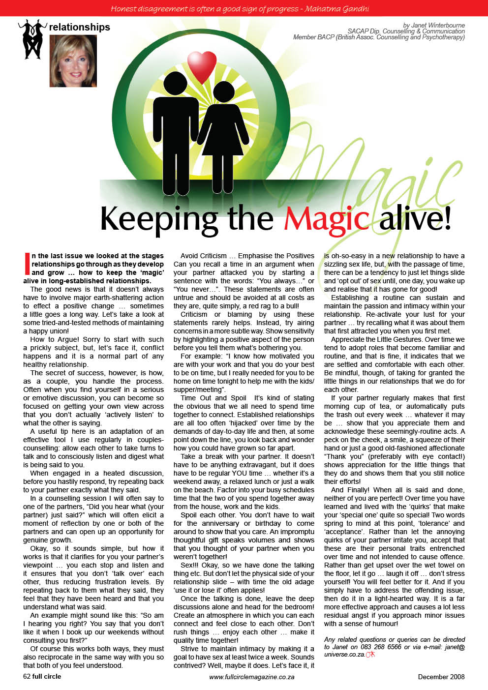 keeping-the-magic-alive Psychologist Cape Town